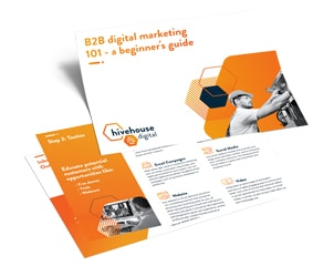 """Featured image for """"The Beginner's Guide to B2B Marketing"""""""