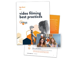 """Featured image for """"Video Recording Best Practices Tip Sheet"""""""