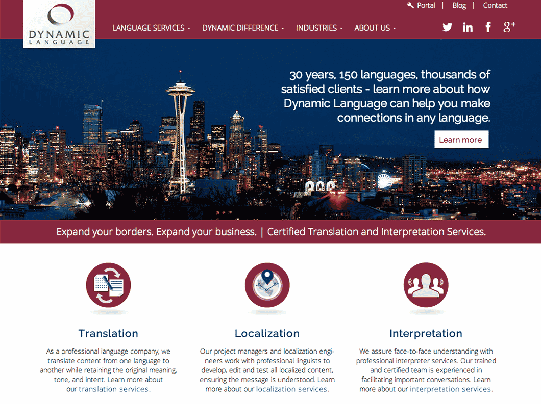 DynamicLanguage_Website