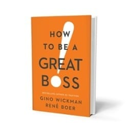 "cover of the book ""How to Be a Great Boss"""