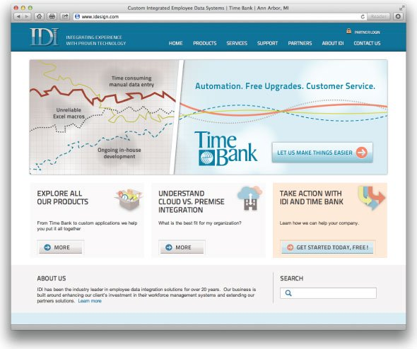 Time Bank's Redesign