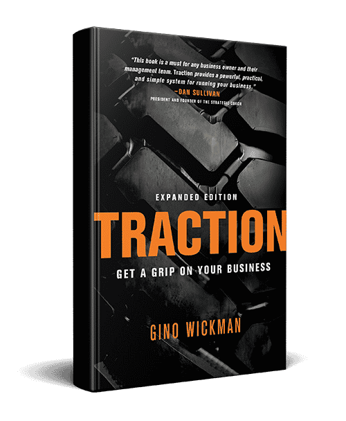 "Image of the Book ""Traction"" by Gino Wickman"