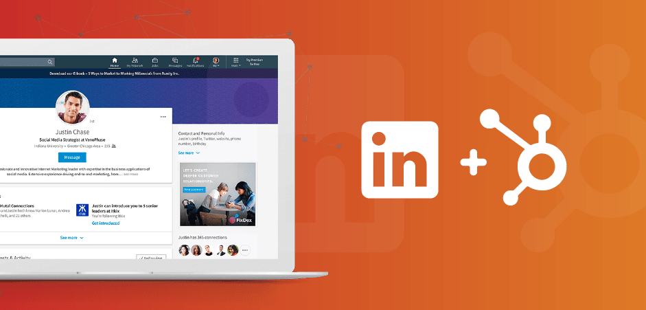"""Featured image for """"New HubSpot Feature: LinkedIn Ads"""""""