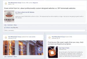 Facebook Business Timeline