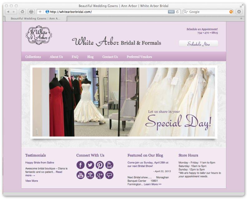 White Arbor Bridal & Formals