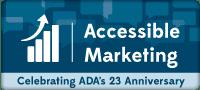 Accessibile Marketing: Celebrating ADA's 23rd Anniversary