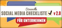 German Sensible Social Media Checklist