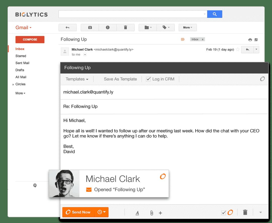 HubSpot Sidekick - Email Notices