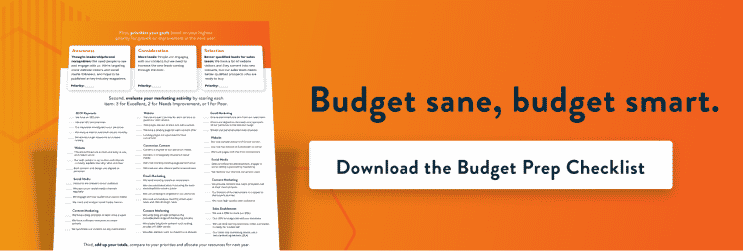 Download the Budget Prep Checklist